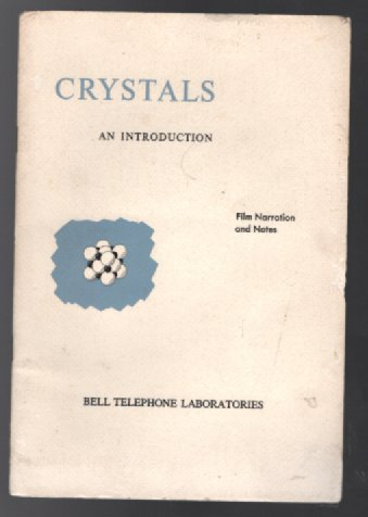 Image for Crystals an Introduction:Film Narration and notes