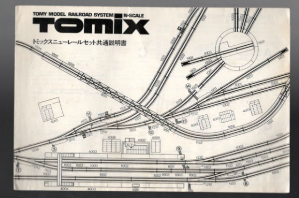 Image for TOMIX:tomy model railroad system n scale