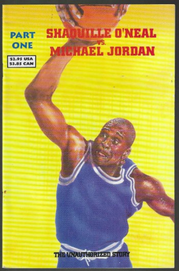 Image for Shaquille O'Neal vs. Michael Jordan Paart one