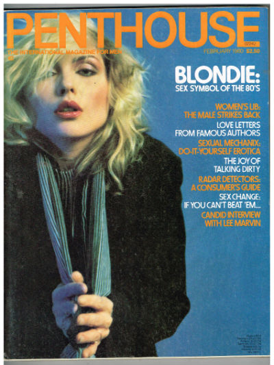 Image for Penthouse Feb.,1980-Blondie cover.