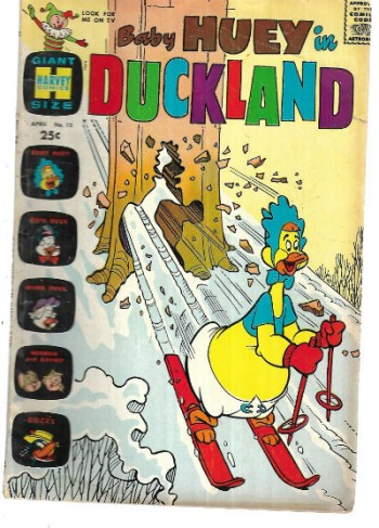 Image for Baby Huey in Duckland no.13