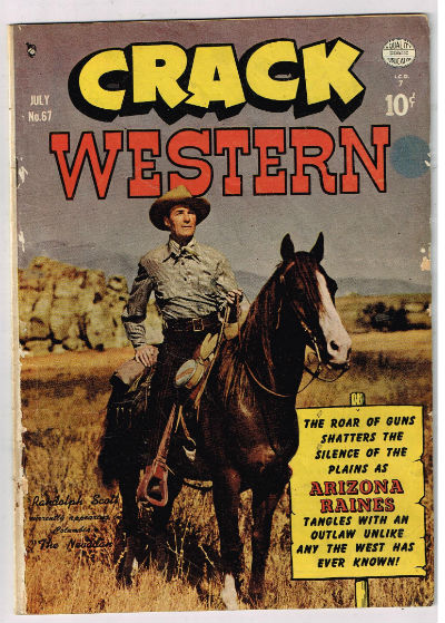Image for CRACK WESTERN #67   1949-1953 |  VOLUME 1 |  QUALITY COMICS GROUP