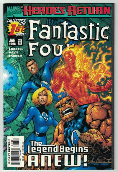 Image for Fantastic Four (1998 3rd Series) #1A