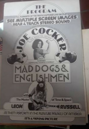 Image for Joe Cocker /Leon Russell The program for Mad dogs and Englishmen