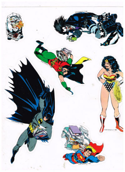 "Image for DC Stickers on 8""x10"" back"