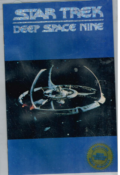 Image for STAR TREK DEEP SPACE NINE (HERO PREMIERE #1) #1    Ashcan/Station Cover with Gold Foil  #6623