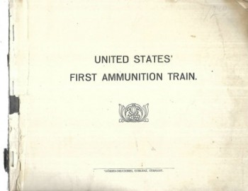 Image for United States' First Ammunition Train