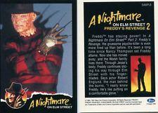IMPEL A NIGHTMARE ON ELM STREET 2 SAMPLE PROMO CARD (FREDDY'S REVENGE)1991 RARE