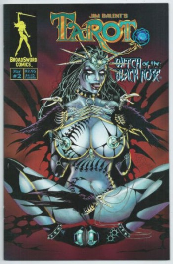 Image for Tarot: Witch of the Black Rose #2 (May 2000, Broadsword Comics)