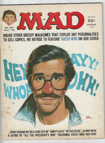 Image for Mad magazine No.187