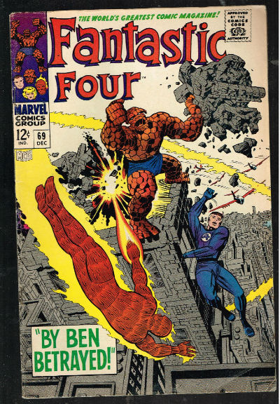 Image for Fantastic Four #69,Dec.1967