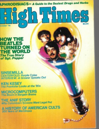 Image for High Times, Dec.,1979-Cool Sinsemilla centerfold within