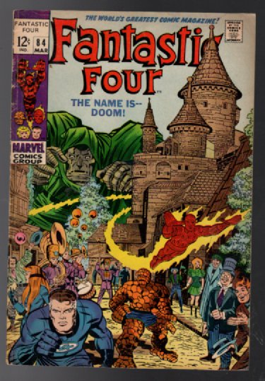 Image for Fantastic Four #84