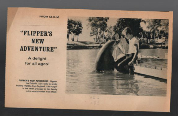 "Image for James Bond:""From Russia with Love"" Newsprint promo with flipper on contrary side!!!"