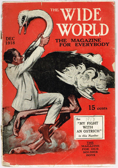 Image for the wide world;the magazine for everyone,Dec.,1918