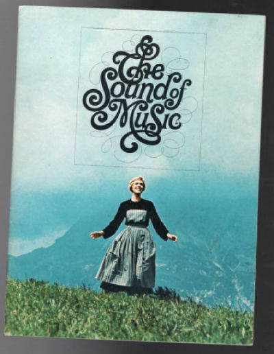 Image for The Sound of Music - 1965 Souvenir Movie Program - 48 pages / color photos