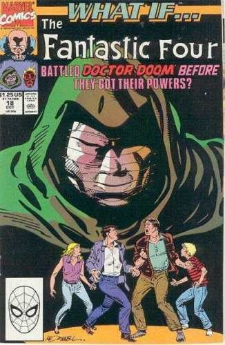 Image for What if.......The fantastic Four battled Doctor Doom before they got their powers? #18