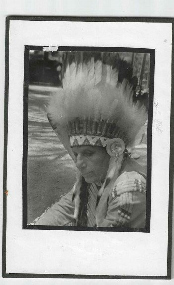 Image for Chief Iron-Eyes Cody? Photo B&W