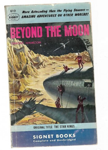 Image for Beyond the Moon-signed by EDMOND HAMILTON