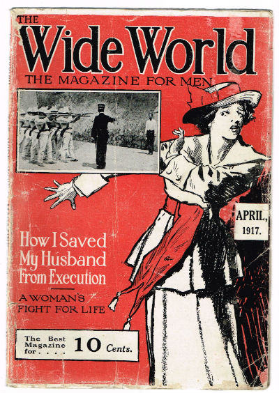 Image for The Wide world for men,april,1917
