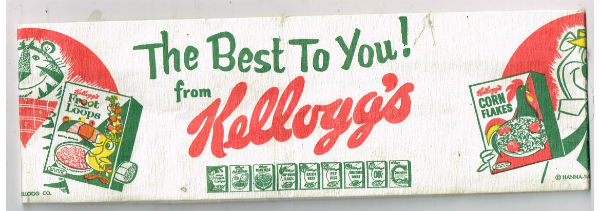 Image for 1965 KELLOGG'S Pal Cap Cereal Premium with Yogi Bear & Tony the Tiger