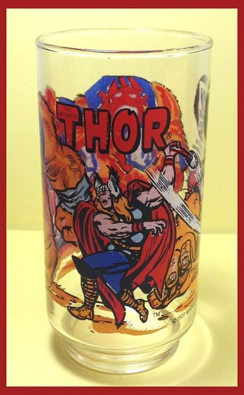 Image for 1977 Marvel Comics Thor 7-11 Glass