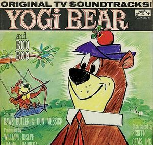 Image for Yogi Bear And Boo Boo  Label:  Colpix Records ‎– CP 205  Format:  Vinyl, LP, Mono   Country:  Canada  Released:  1961  Genre:  Children's  Style:  Story