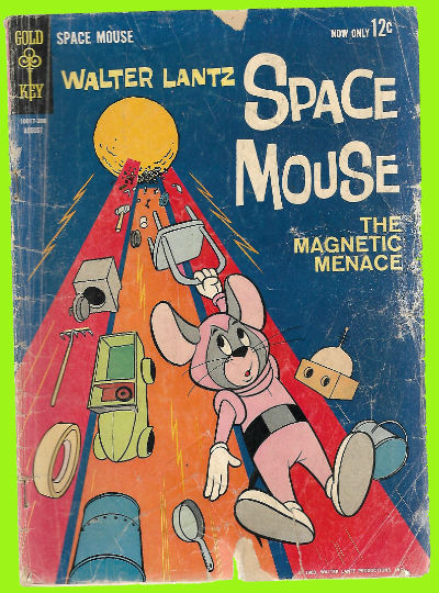 Image for Space Mouse (1963 Gold Key) #4
